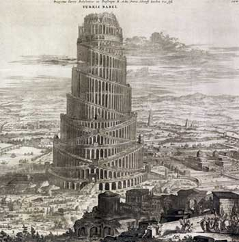 Tower of Babel and Geocentrism