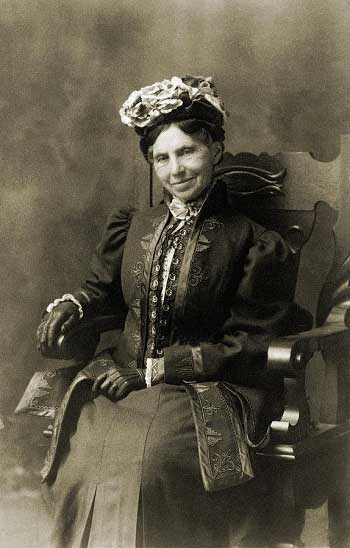 Clara Barton in Retirement