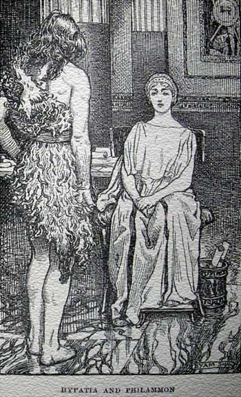 Hypatia of Alexandria Depiction