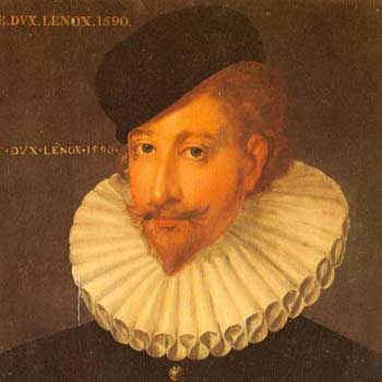 1st Duke of Lennox, Esmé Stuart, King James' Lover