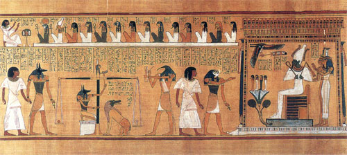 Weighing of the Heart, Ancient Egypt