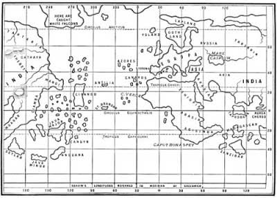 Christopher Columbus Map