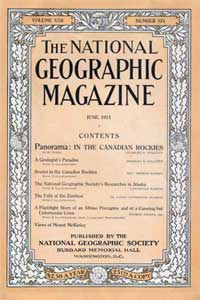 National Geographic, June 1911