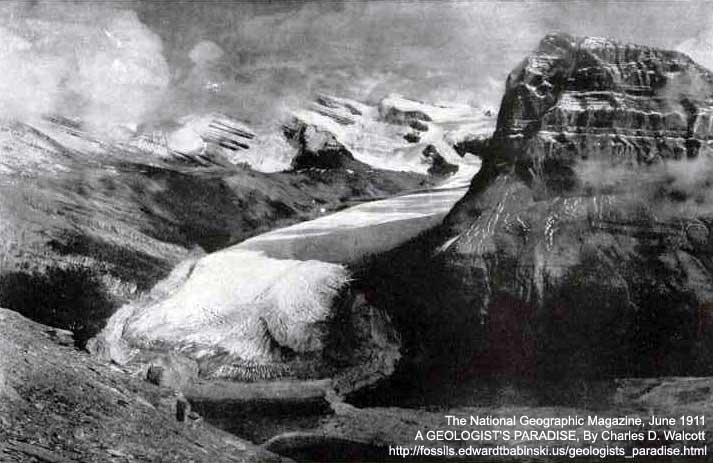 Glacier Mount Robson