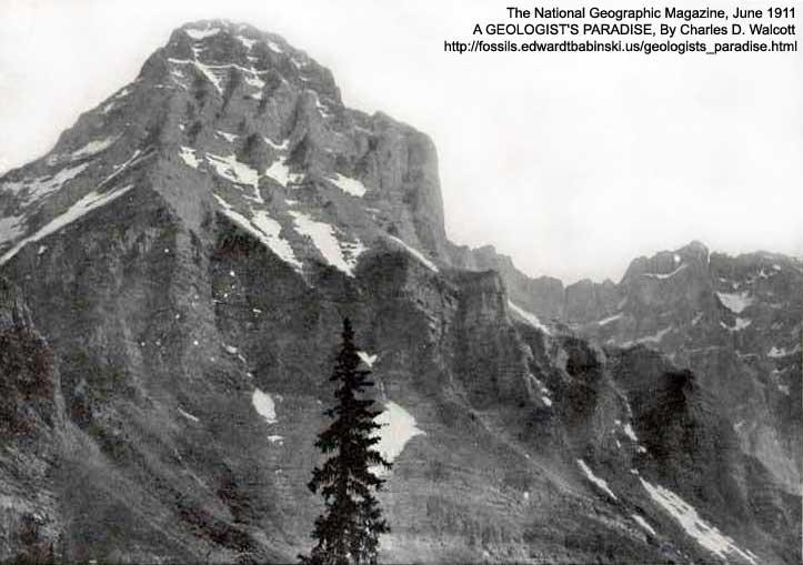 Mt. Huber Cambrian Erosion