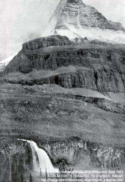 North face of Mount Robson