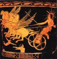 Mythological Son of the Sun God Helios