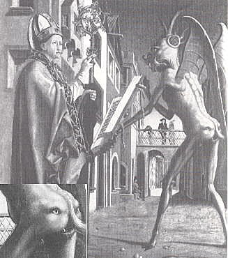 Saint Wolfgang and the Devil